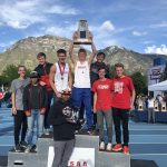 Boys track team finishes 2nd at state