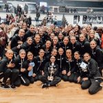 SFHS Las Chalitas Drill team earned a #1 seed for the 5A State Drill Finals.