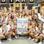 Spanish Fork High School Cheer wins 1st in State Competition