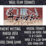 SFHS Drill Team Tryouts POSTPONED