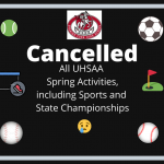 All UHSAA Spring Activities and Sports Cancelled