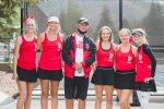 Spanish Fork Girls Varsity Tennis Loses to Park City 1-4