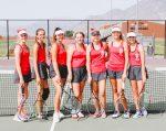 Spanish Fork Girls Varsity Tennis beats Maple Mountain 4 – 1