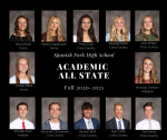 Congrats to our Academic All State Recipients for Fall 2020-21