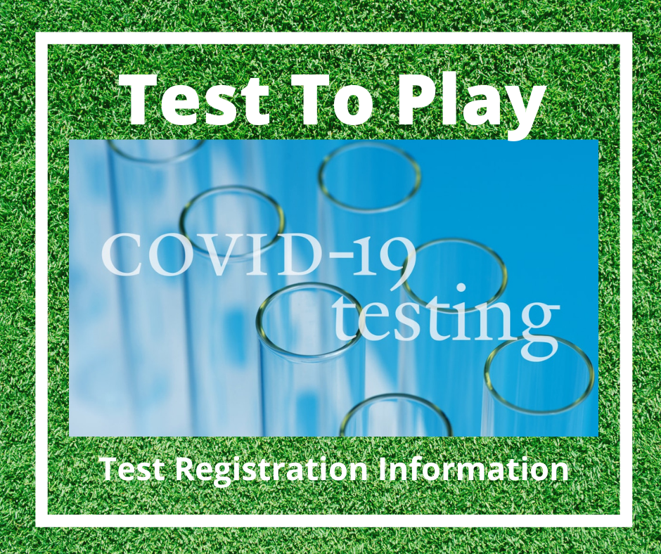 Test To Play- Covid Testing Registration for SFHS