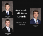 Academic All State Awards – Music and Theater