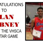 Dabney Named MVP for VHSCA All-Star Game