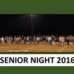 Hawks Win on Senior Night