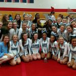 Cheer Team Places Second at Regionals