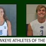 The Hawkeye Athletes of the Month
