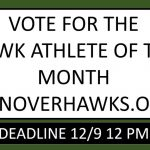 Vote for Athlete of the Month