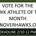 Vote for January Athlete of the Month