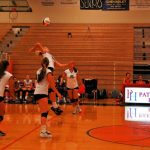 Player Jumps for Ball