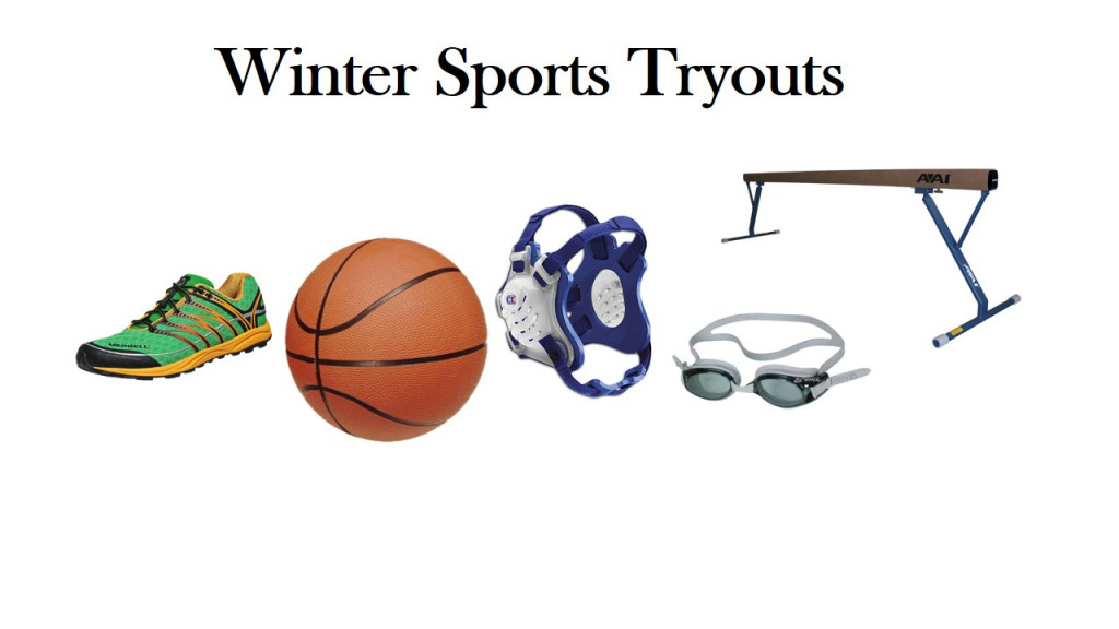 Winter Sports Try-Out Dates and Information