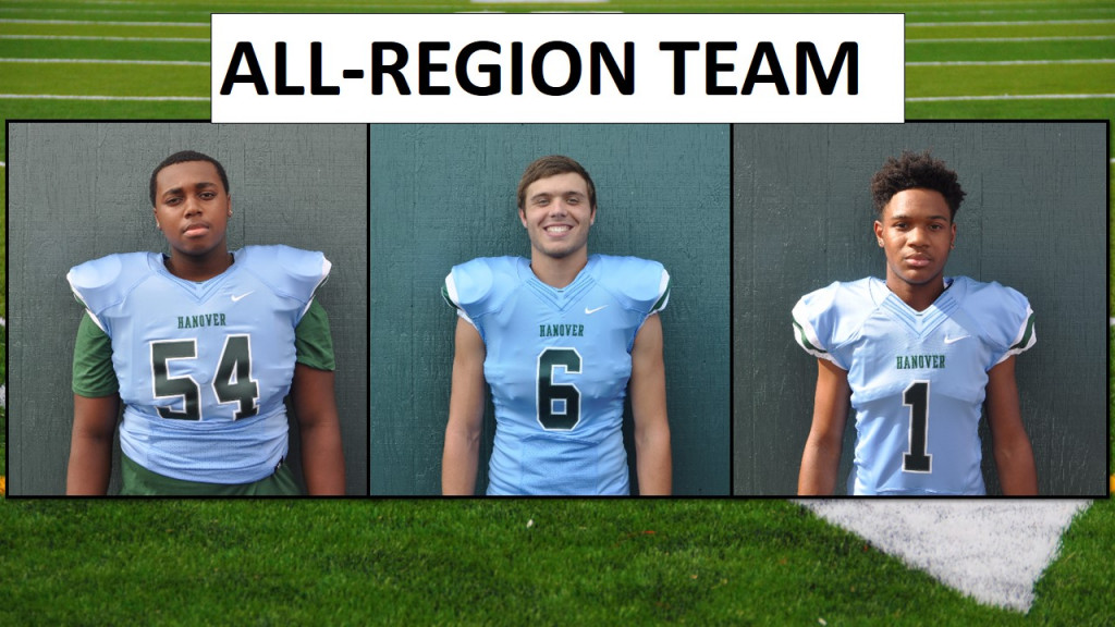 Hanover Football: 2017 All-Region Team