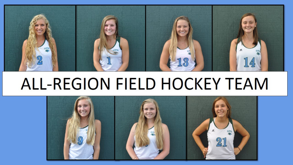 Field Hockey Places Seven on All-Region Teams