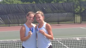 Girls Doubles Champs
