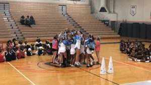 cheer team wins