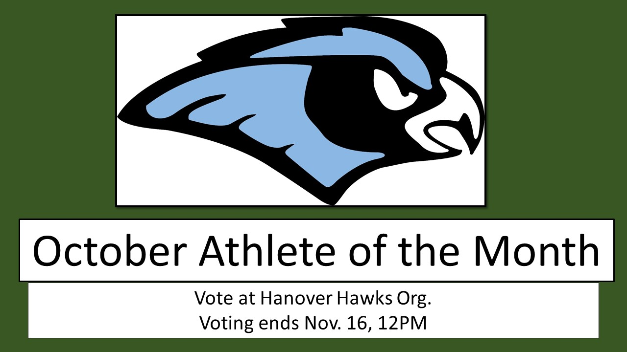 Vote for the October Athlete of the Month