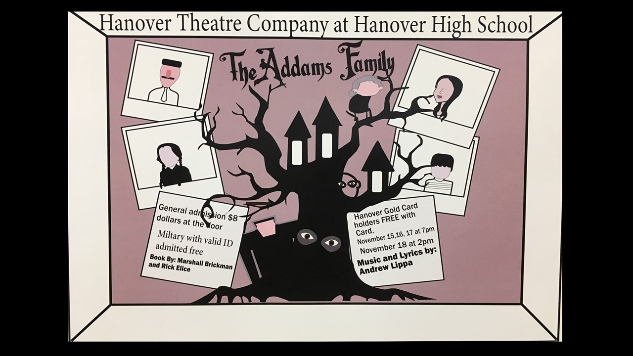 Hanover Theatre Company presents the Addams Family