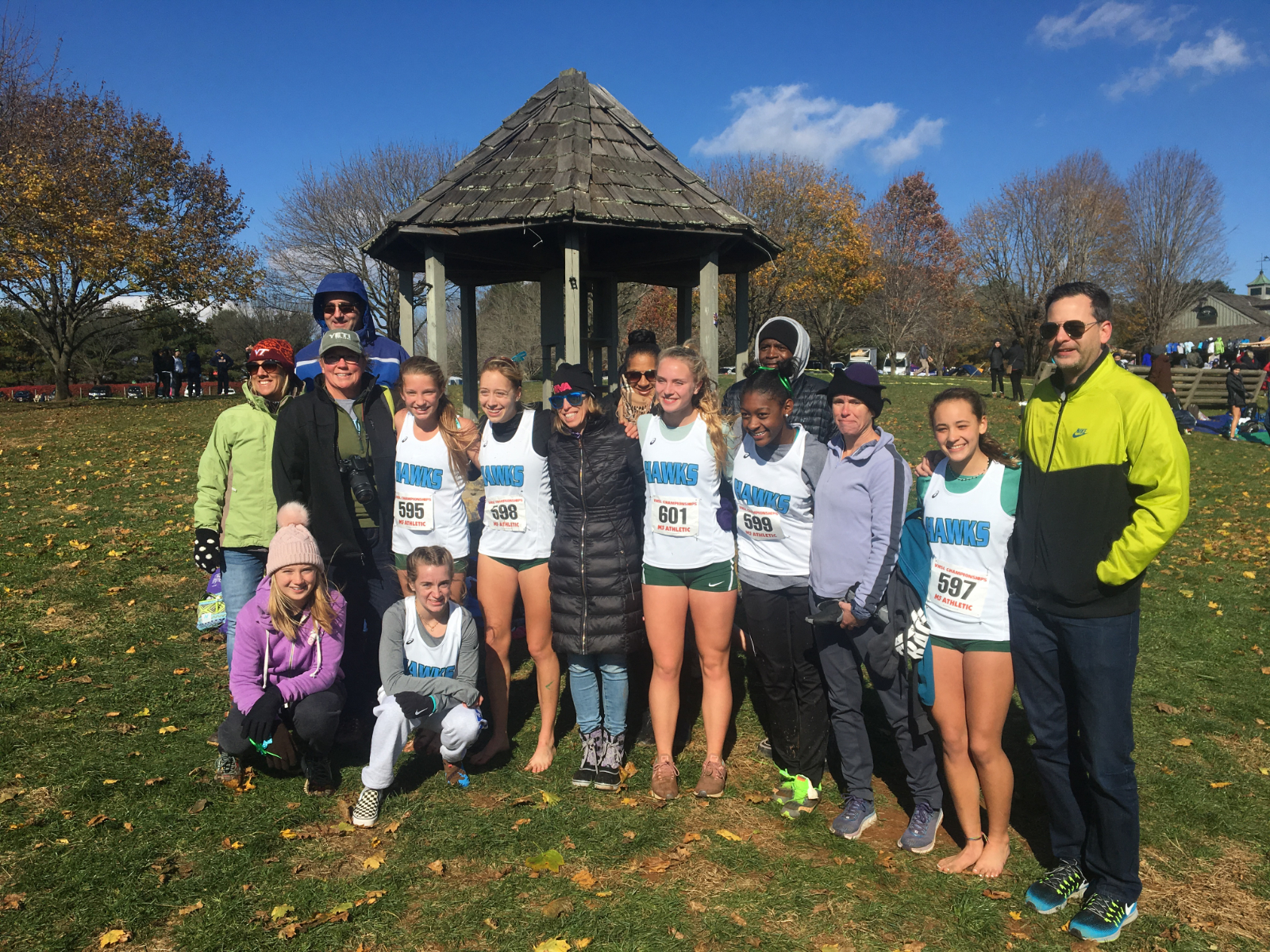 Crytser Finishes 8th to Lead Girls XC at States