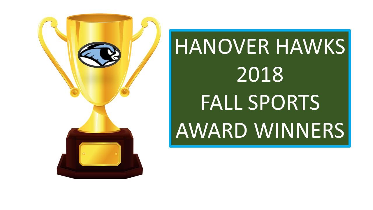 2018 Fall Sports Award Winners