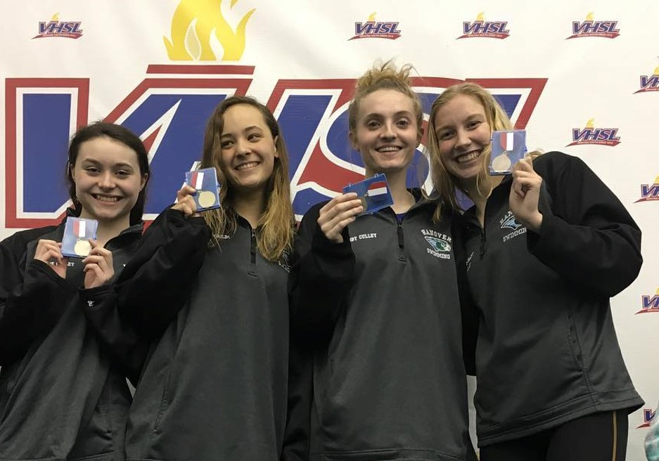 Hanover Swim Team: Regional and States Results