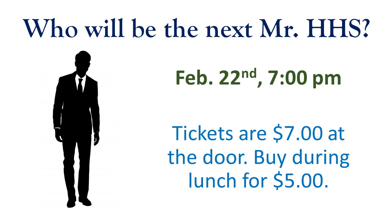 Who will be the next Mr. HHS?