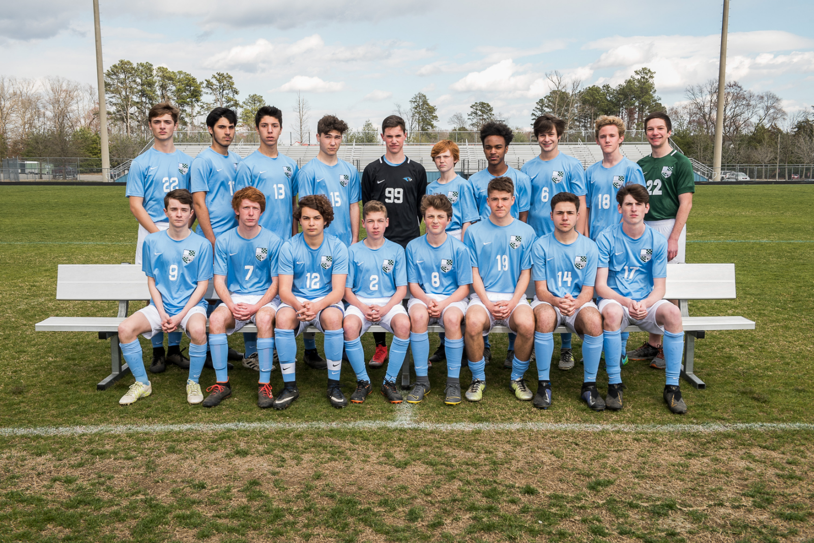 2019 Boys Junior Varsity Soccer Team