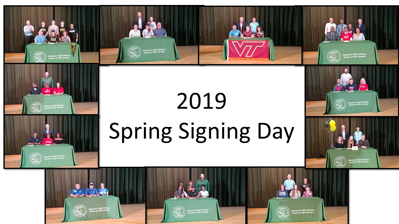 2019 Spring Signing Day Photos