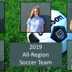 2019 Girls Soccer All-Region Team