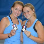 Raine Weis & Madison Moore are 4A State Champions