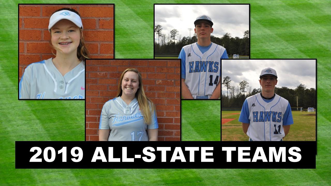 All-State Softball and Baseball Honors