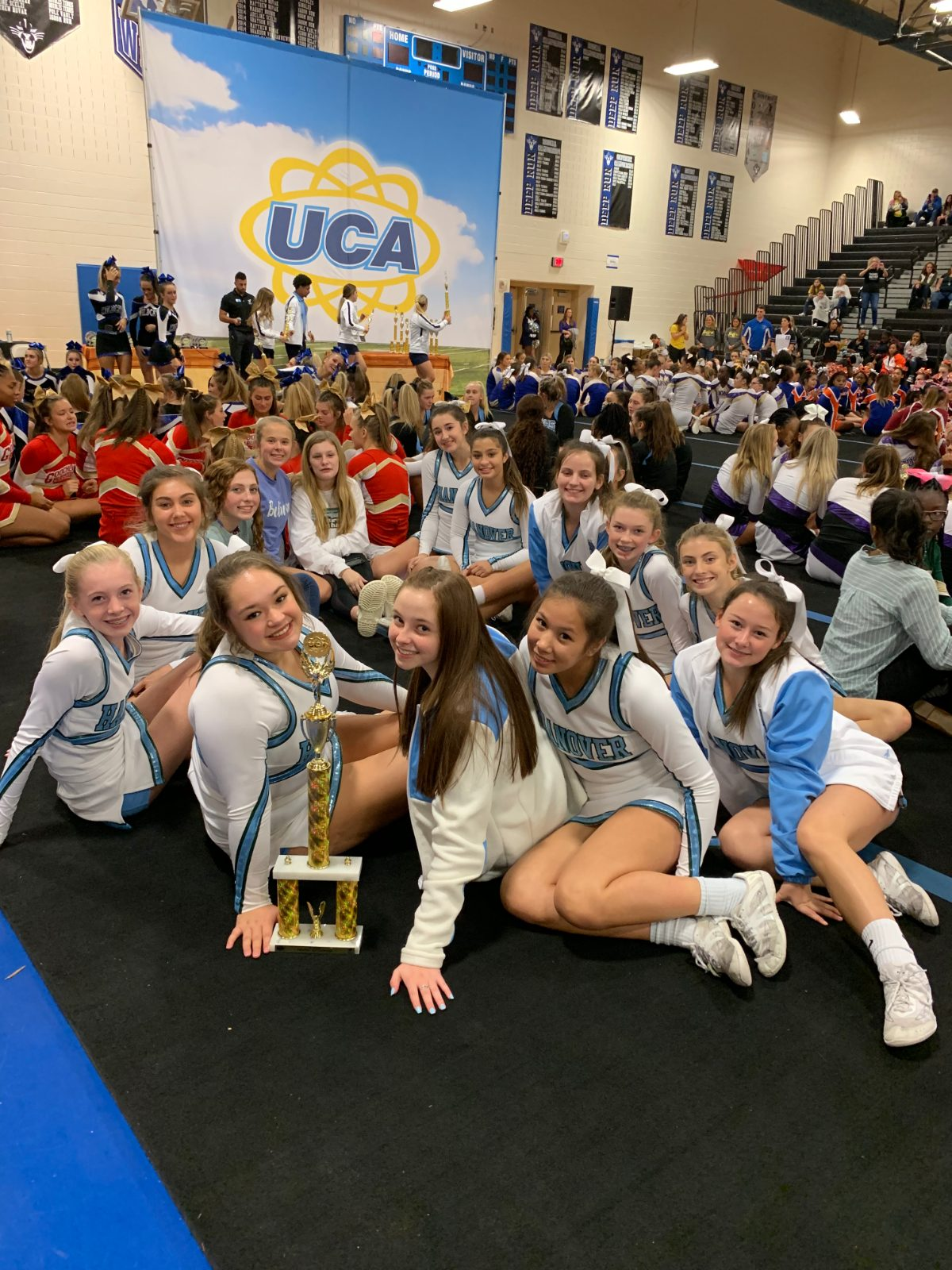 JV Cheer Team Takes First Place!