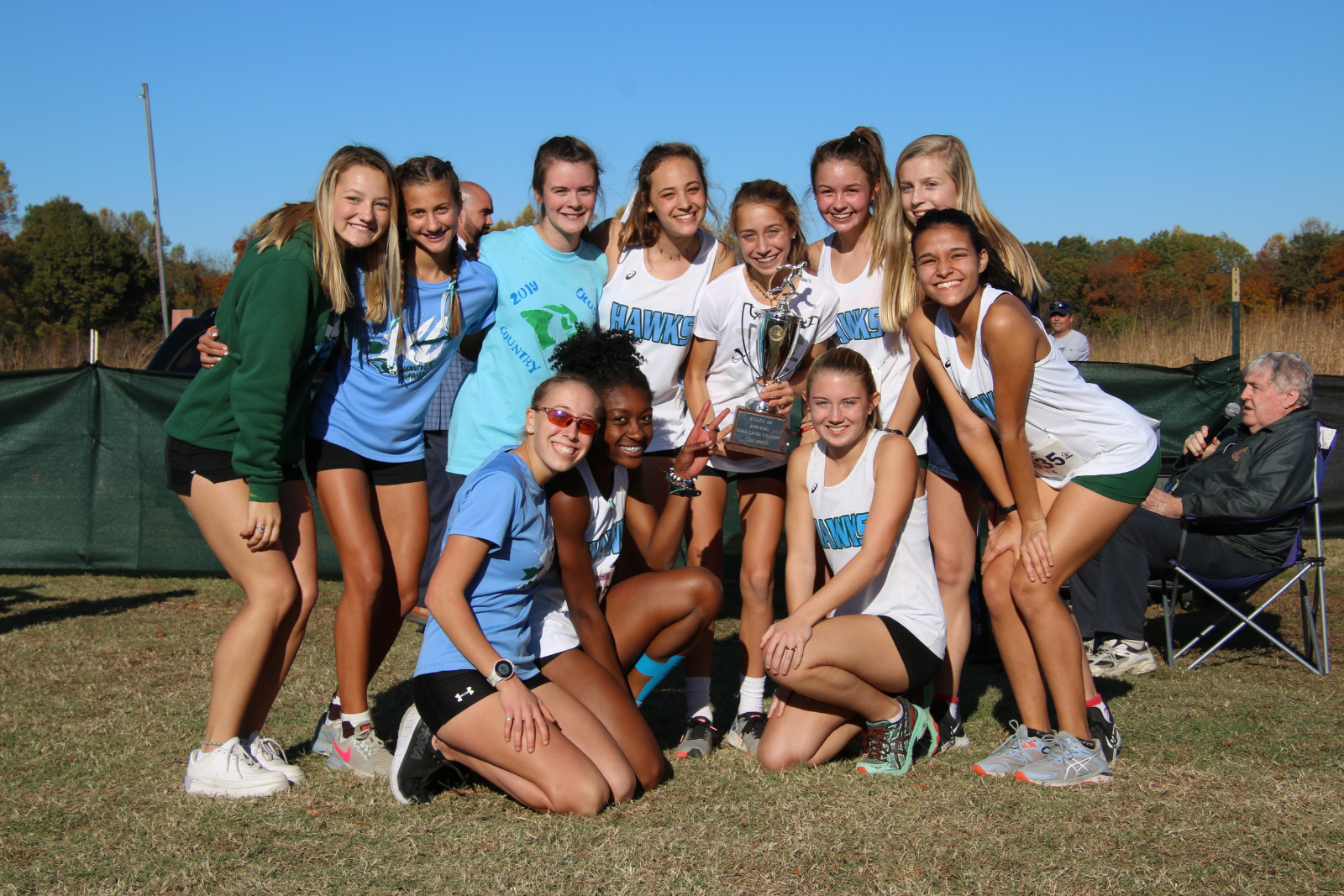Girls CC Team: Regional Champs! Boys CC, Coleman and Myers Make States!