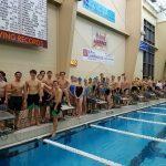 Coed Varsity Swimming beats Lee-Davis 218 – 108.  Finishes first half of season undefeated.