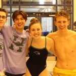 Coed Varsity Swimming beats Colonial Heights 253 – 73