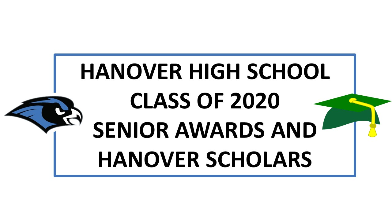 Class of 2020 Senior Awards and Hanover Scholars
