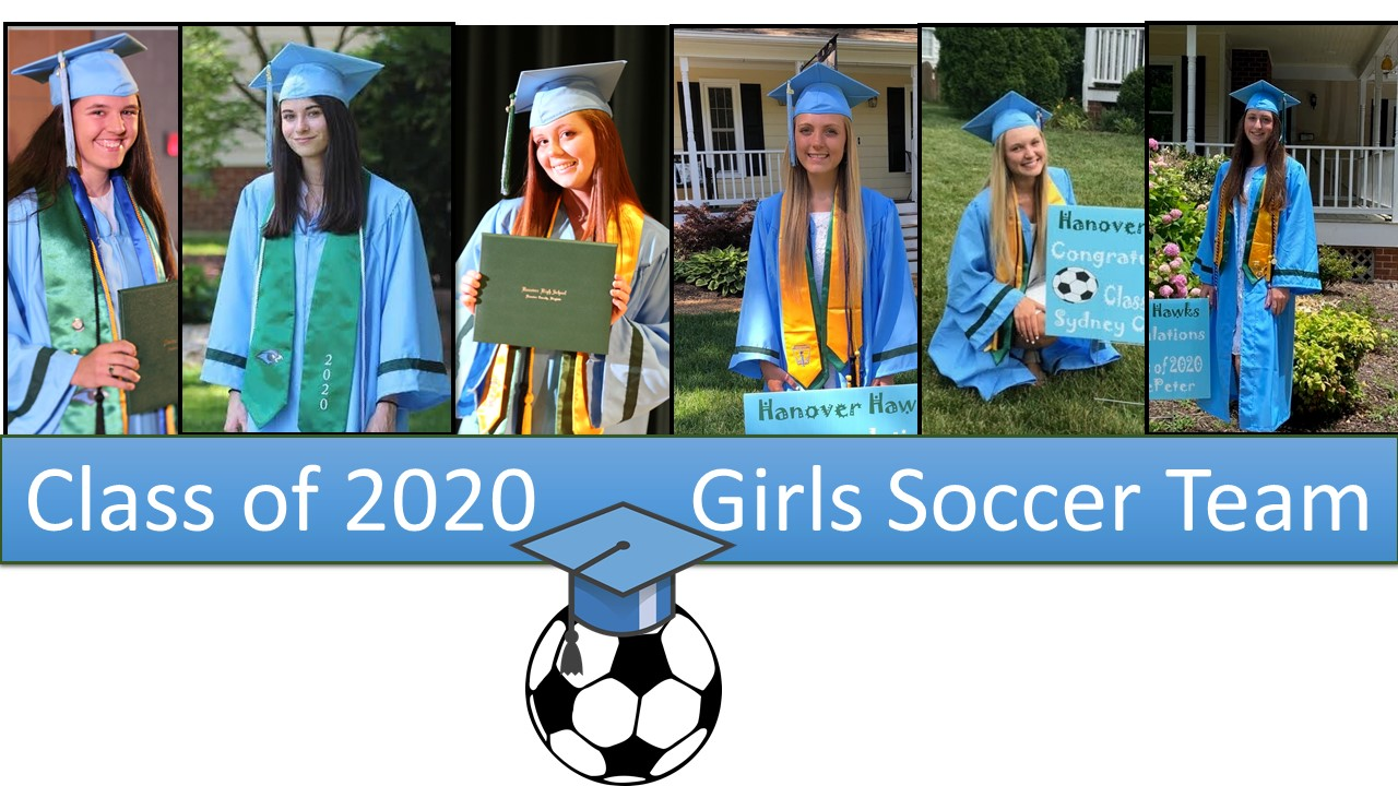 Congratulations to the Girls Soccer Team Seniors!