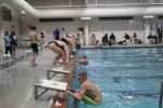 Boys and Girls swim teams open short season with easy victories over Mechanicsville.