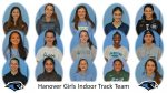 Hanover Girls Indoor Track Team: Roster Photos