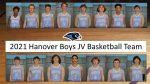Hanover JV Boys Basketball Team: Roster Photos