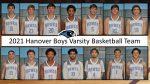 Hanover Varsity Boys Basketball Team: Roster Photos