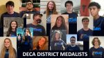 Hanover DECA: District Winners and State Qualifiers
