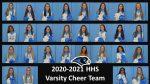 Hanover Varsity Cheer Team: Roster Photos