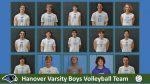 2021 Hanover Boys Varsity Volleyball Team