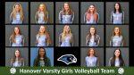 2021 Hanover Varsity Girls Volleyball Team Roster Photos