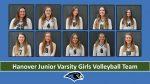 Hanover JV Girls Volleyball Team Roster Photos