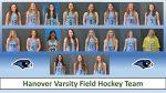 2021 Varsity Field Hockey Roster Photos