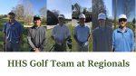 Hanover Golf Team: Regional Results